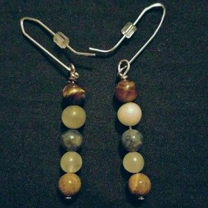 Stone Totem  Earrings